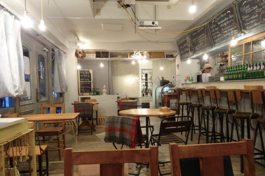 千駄ヶ谷・北参道おしゃれカフェ_LUCKAND Gallery Cafe&Bar