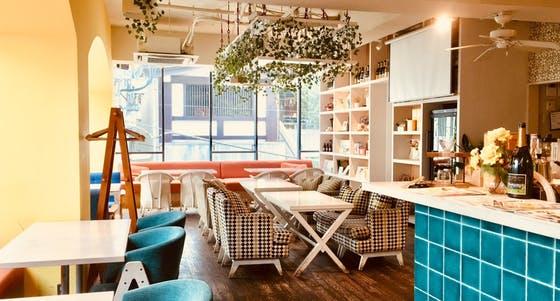 六本木おしゃれカフェレストラン_natural kitchen yoomi