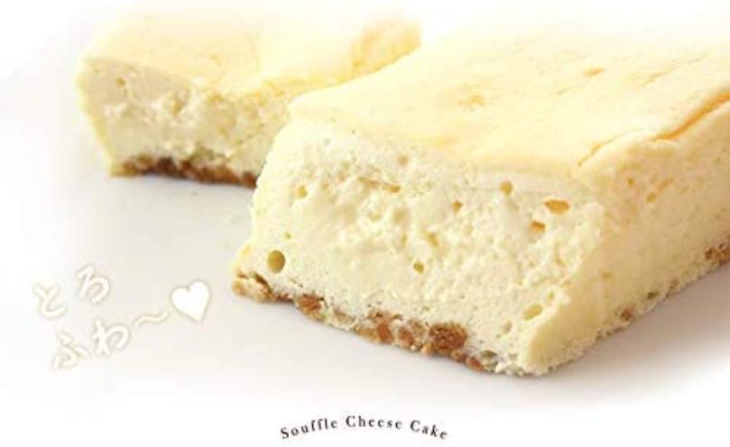 おすすめチーズケーキ_Sweets Factory Cerise/北海道産クリームチーズのとろける半熟スフレケーキ
