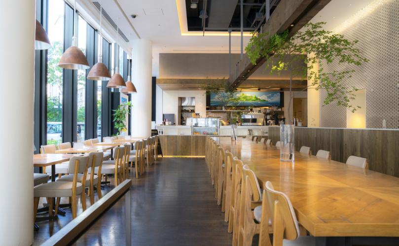 日比谷おしゃれカフェのMEToA Cafe & Kitchen