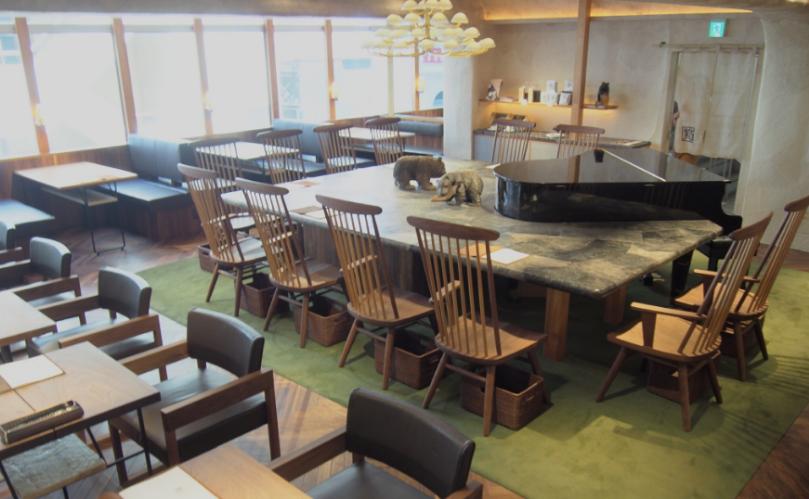 日比谷おしゃれカフェの椿サロン銀座