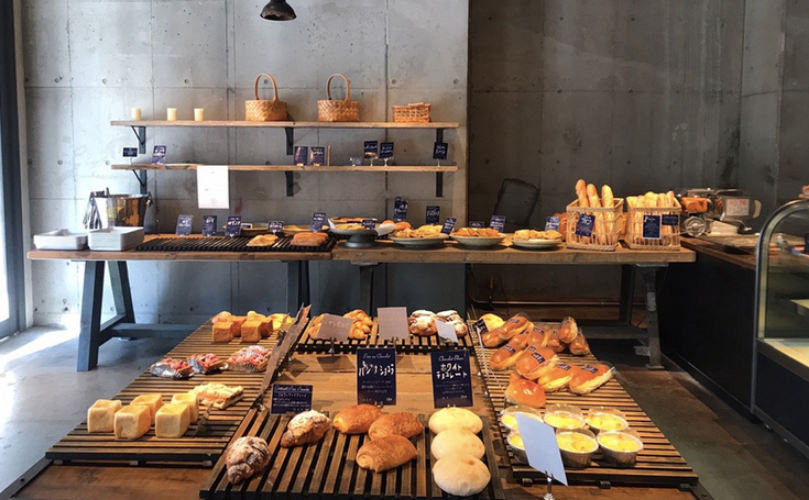 お台場おしゃれカフェのthe open bakery