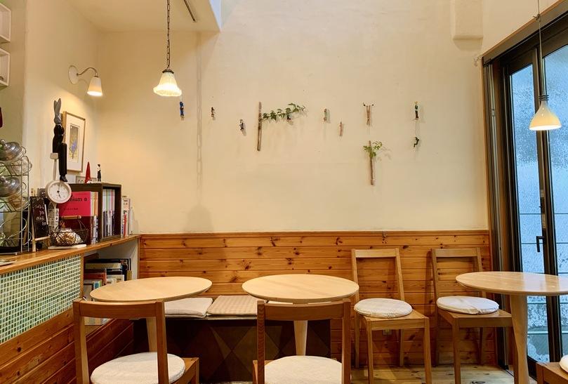 新馬場のおしゃれカフェのラ カピ