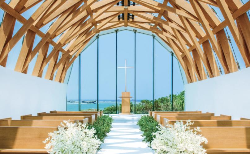 瀬良垣島教会(恩納村)