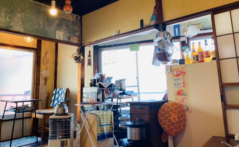 新馬場おしゃれカフェのクロモンカフェ