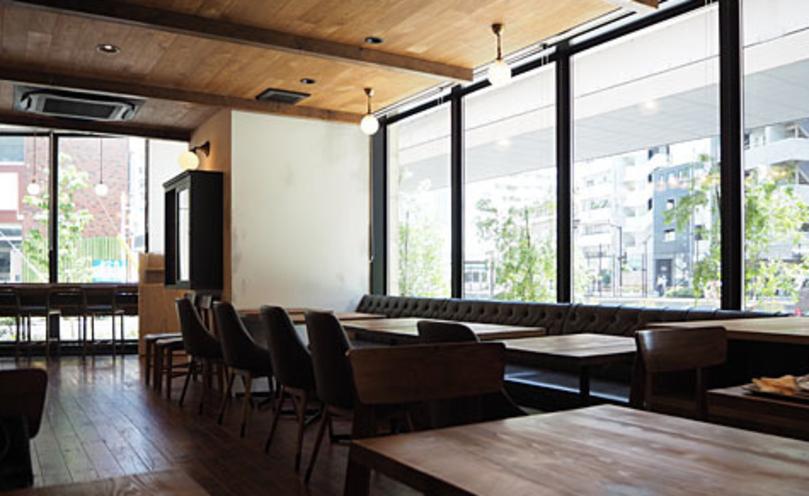 板橋おしゃれカフェのブリッジ カフェ