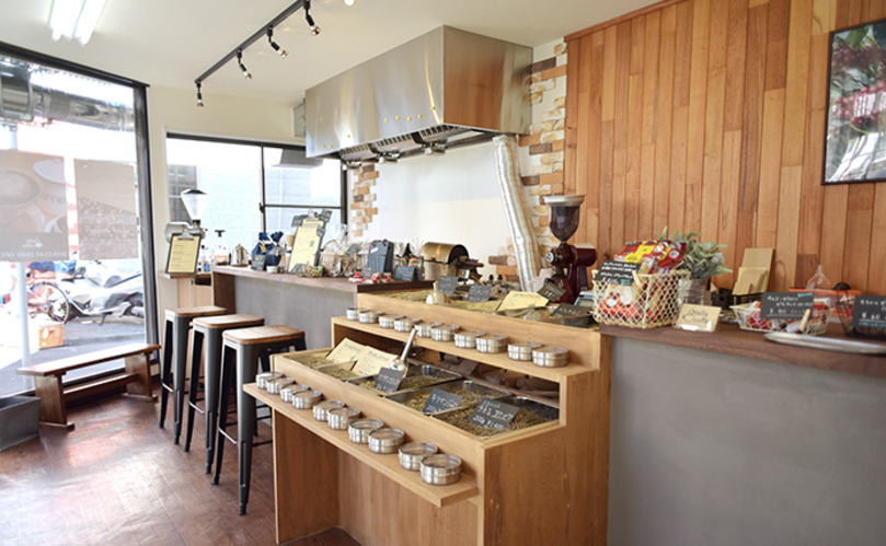 板橋おしゃれカフェのステラ・コーヒー
