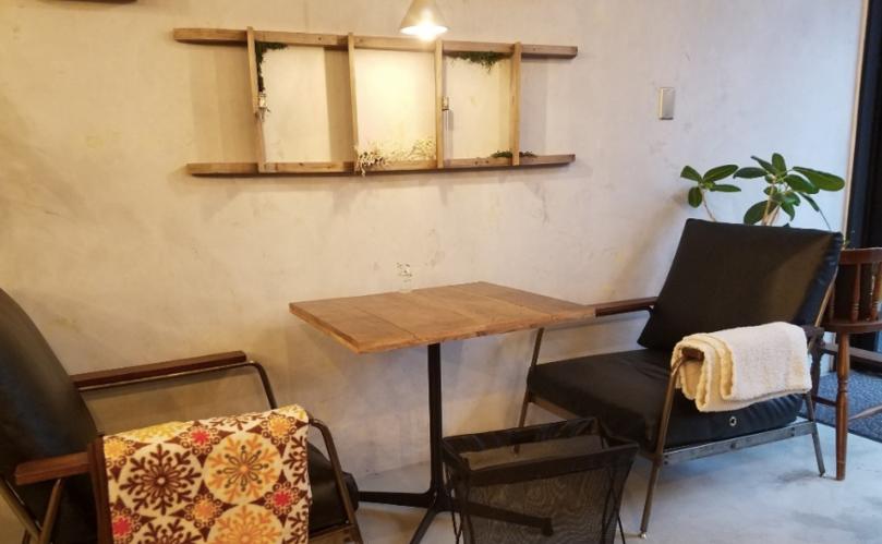 高田馬場おしゃれカフェのオモテナシャモジ