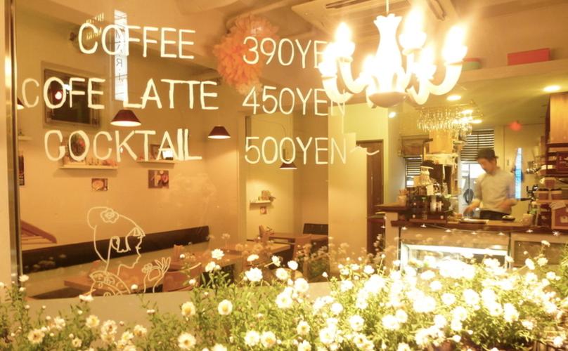 本郷三丁目おしゃれカフェのサカノウエカフェ