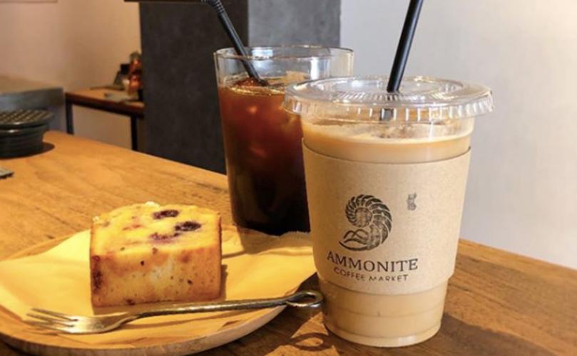 本郷三丁目おしゃれカフェのアンモナイトコーヒーマーケット 本郷店