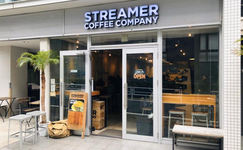 渋谷おしゃれカフェのストリーマー コーヒーカンパニー