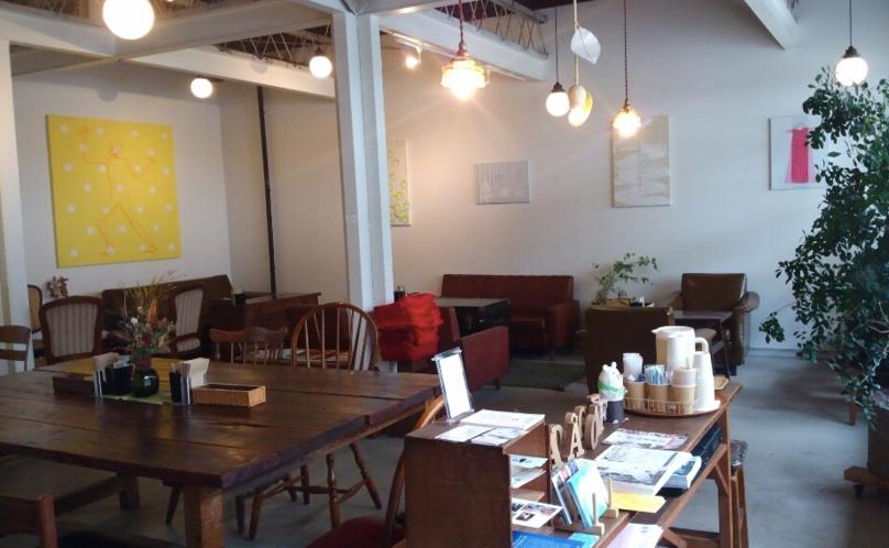 清澄白河おしゃれカフェのフカダソウカフェ