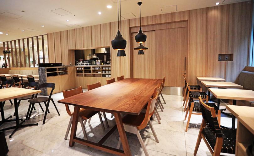 渋谷おしゃれカフェのPaul Bassett 渋谷ヒカリエ