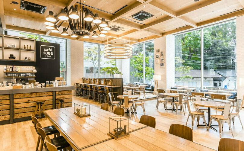 渋谷おしゃれカフェのcafé 1886 at Bosch