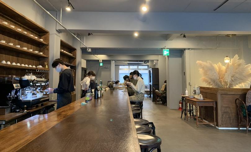 蔵前おしゃれカフェの喫茶 半月