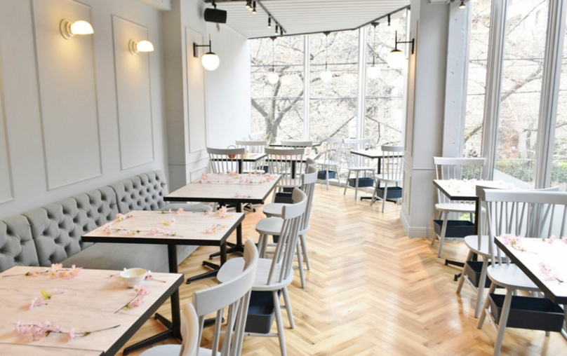 中目黒おしゃれカフェのHAUTE COUTURE・CAFE